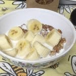 Maple Nut Crunch 100g Serve with Milk & Bananas