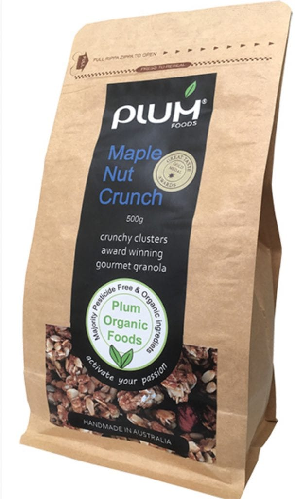 Maple Nut Crunch from Plum Foods