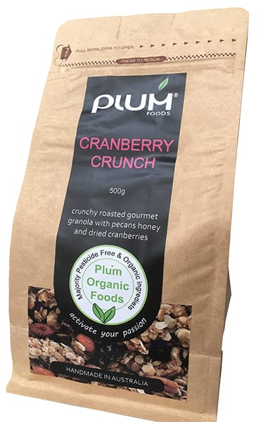 Cranberry Crunch Granola from Plum Foods