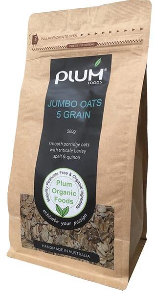 Jumbo Oats A 5 grain Porridge from Plum Foods