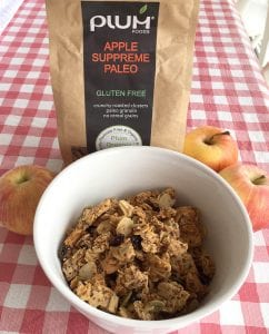 Apple Supreme Paleo an organic healthy breakfast cereal