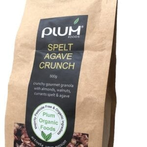 Spelt and Agave Nut Crunch Granola 500g - Plum Foods