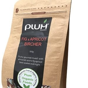 Fig and Apricot Bircher Muesli 500g - Plum Organic Foods