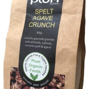 Spelt and Agave Nut Crunch Organic Granola 1kg - Plum Foods
