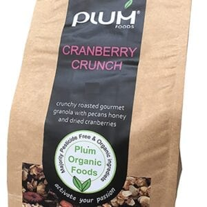 Cranberry Crunch Granola 1kg Healthy Cereal - Plum Foods